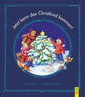 Jetzt kann das Christkind kommen! + Malbuch (Set) von Skopal,  Claudia, Straßmann,  Kirsten