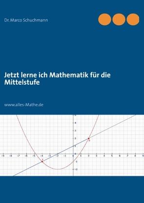 Jetzt lerne ich Mathematik für die Mittelstufe von Schuchmann,  Marco