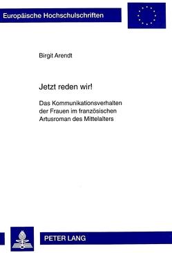 Jetzt reden wir¿ von Constant,  Birgit