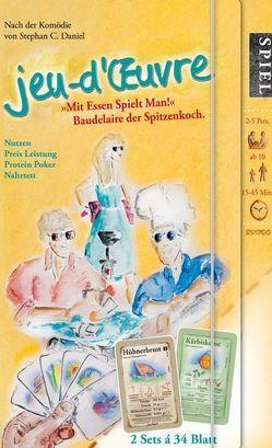 »jeu-d'œuvre« Kartenspiele-Box – Lernspiel Ernährung mit Kohlenhydraten und Proteinen von Daniel,  Stephan C.