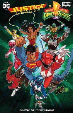 Justice League/Power Rangers von Byrne,  Stephen, Hidalgo,  Carolin, Taylor,  Tom