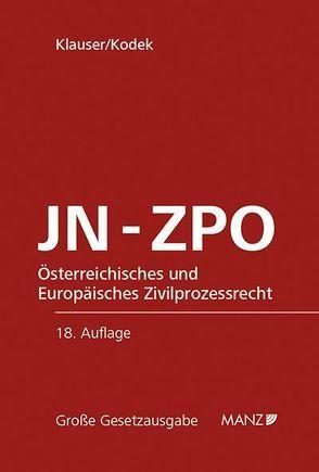 JN – ZPO von Klauser,  Alexander, Kodek,  Georg
