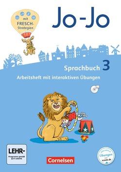 Jo-Jo Sprachbuch – Allgemeine Ausgabe – Neubearbeitung 2016 / 3. Schuljahr – Arbeitsheft