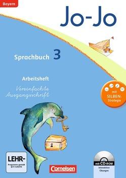 Jo-Jo Sprachbuch – Grundschule Bayern / 3. Jahrgangsstufe – Arbeitsheft mit interaktiven Übungen auf scook.de von Brinster,  Olga, Lechner,  Isabelle