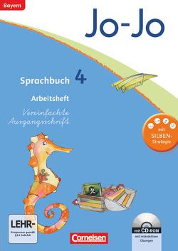 Jo-Jo Sprachbuch – Grundschule Bayern / 4. Jahrgangsstufe – Arbeitsheft mit interaktiven Übungen auf scook.de von Brinster,  Olga, Kiener,  Cornelia