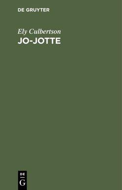 Jo-Jotte von Brockdorff,  Graf, Culbertson,  Ely