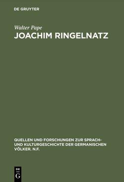 Joachim Ringelnatz von Pape,  Walter