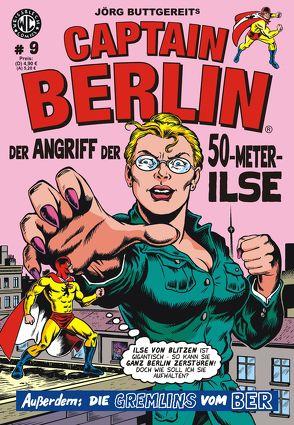 Jörg Buttgereits CAPTAIN BERLIN 9 von Buttgereit,  Jörg, Engel,  Rainer F, Kurio,  Levin, Kurio,  Marte, Trafford,  Martin