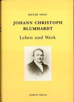 Johann Christoph Blumhardt von Ising,  Dieter