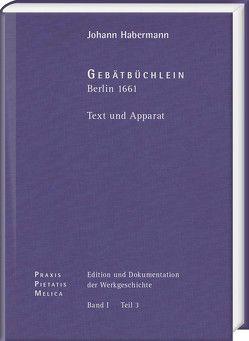 Johann Crüger: PRAXIS PIETATIS MELICA. Edition und Dokumentation der Werkgeschichte von Korth,  Hans-Otto, Miersemann,  Wolfgang