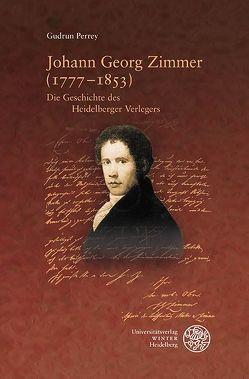 Johann Georg Zimmer (1777–1853) von Perrey,  Gudrun