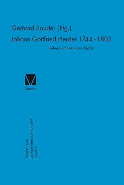 Johann Gottfried Herder (1744-1803) von Sauder,  Gerhard