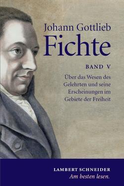 Johann Gottlieb Fichte von Fichte,  Johann, Hiltscher,  Reinhard