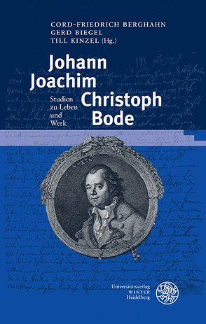 Johann Joachim Christoph Bode von Berghahn,  Cord-Friedrich, Biegel,  Gerd, Kinzel,  Till