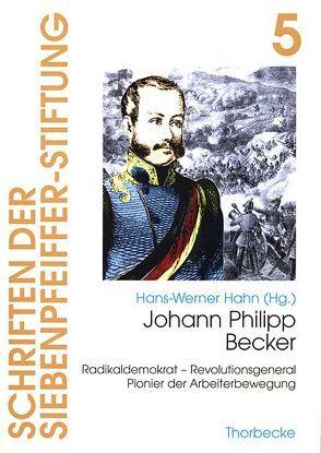 Johann Philipp Becker von Hahn,  Hans W