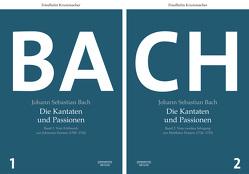 Johann Sebastian Bach. Die Kantaten und Passionen von Krummacher,  Friedhelm