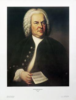 Johann Sebastian Bach von Haussmann,  Elias G.