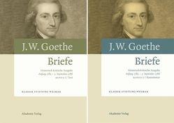 Johann Wolfgang von Goethe: Briefe / Anfang 1785 – 3. September 1786 von Fenske,  Susanne, Giel,  Volker, Mueller,  Gerhard, Pietsch,  Yvonne
