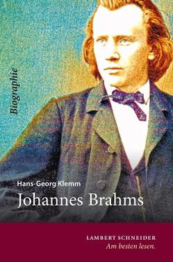 Johannes Brahms von Klemm,  Hans-Georg