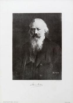 Johannes Brahms von Rumpf,  Fr. H.