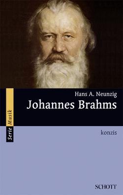 Johannes Brahms von Neunzig,  Hans A.