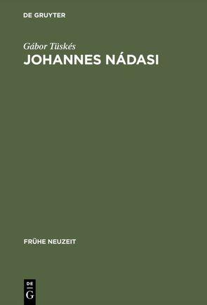 Johannes Nádasi von Tüskés,  Gabor