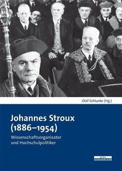 Johannes Stroux (1886–1954) von Schlunke,  Olaf