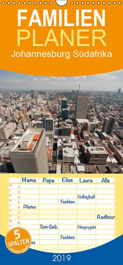 Johannesburg Südafrika – Familienplaner hoch (Wandkalender 2019 , 21 cm x 45 cm, hoch) von Schickert,  Peter