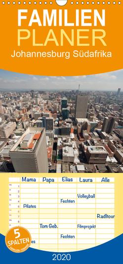 Johannesburg Südafrika – Familienplaner hoch (Wandkalender 2020 , 21 cm x 45 cm, hoch) von Schickert,  Peter
