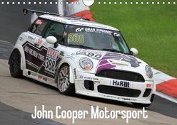 John Cooper Motorsport (Wandkalender 2019 DIN A4 quer)