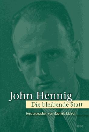 John Hennig von Malsch,  Gabriele