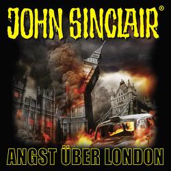 John Sinclair – Angst über London von Dark,  Jason, Glaubrecht,  Frank, Lange,  Alexandra