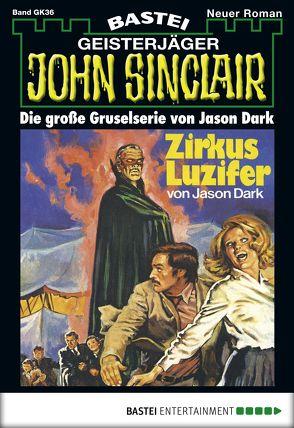 John Sinclair Gespensterkrimi – Folge 36 von Dark,  Jason
