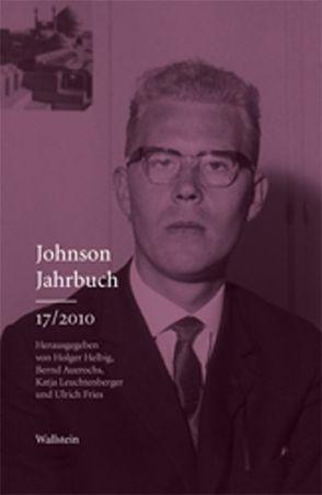 Johnson-Jahrbuch 2010 von Auerochs,  Bernd, Fries,  Ulrich, Helbig,  Holger, Leuchtenberger,  Katja