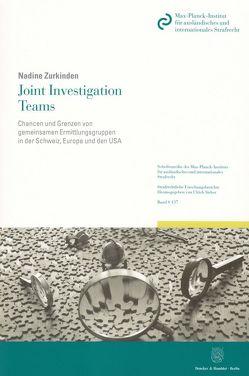 Joint Investigation Teams. von Zurkinden,  Nadine