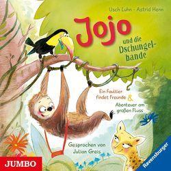 Jojo und die Dschungelbande. Ein Faultier findet Freunde [1] & Abenteuer am großen Fluss [2] von Greis,  Julian, Luhn,  Usch