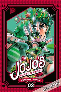 JoJo's Bizarre Adventure – Part 1: Phantom Blood 3 von Araki,  Hirohiko, Shanel,  Josef