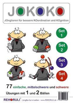 JOKOKO-DIN A5-Karten – SET 1+2+3+4 (DIN A5 Karten) von Clifford,  Marvin, Ehlers,  Stephan