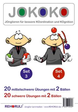 JOKOKO-DIN A5-Karten – SET 3 + Set 4 (DIN A5 Karten) von Clifford,  Marvin, Ehlers,  Stephan