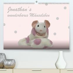Jonathan's wunderbares Mäuseleben (Premium, hochwertiger DIN A2 Wandkalender 2021, Kunstdruck in Hochglanz) von brigitte jaritz,  photography