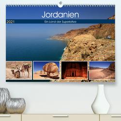Jordanien – Ein Land der Superlative (Premium, hochwertiger DIN A2 Wandkalender 2021, Kunstdruck in Hochglanz) von Herzog,  Michael