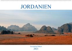 JORDANIEN, Faszination Nahost (Wandkalender 2021 DIN A2 quer) von Senff,  Ulrich