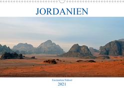 JORDANIEN, Faszination Nahost (Wandkalender 2021 DIN A3 quer) von Senff,  Ulrich
