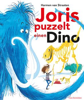 Joris puzzelt einen Dino von Erdorf,  Rolf, van Straaten,  Harmen