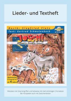 Joschi – Nazareth-Express-Dienst von Fietz,  Siegfried, Schmalenbach,  Gertrud, Zilly,  Rainer