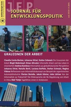 Journal für Entwicklungspolitik 4/2015 von Cerda-Becker,  Claudia, Schmalz,  Stefan, Sittel,  Johanna