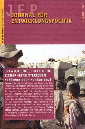 Journal für Entwicklungspolitik 2007/4