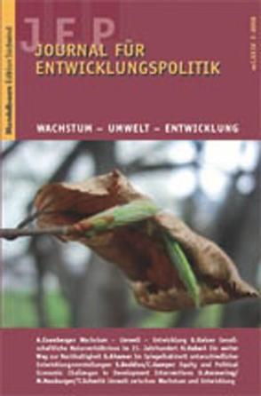 Journal für Entwicklungspolitik 2008/3