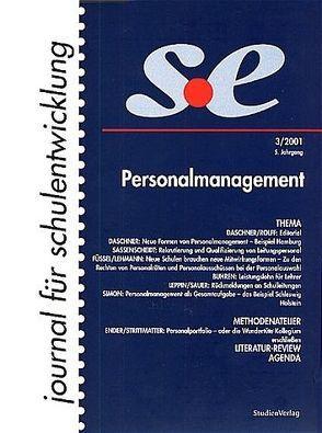 journal für schulentwicklung 3/2001 von journal für schulentwicklung