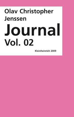 Journal Volume 02 von Jenssen,  Olav Ch